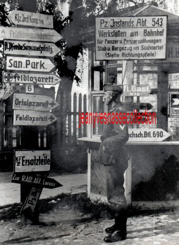 Soldbuch Feldwebel Feldgendarmerie-Abteilung (mot 696) Russie Grèce Croatie Img20254