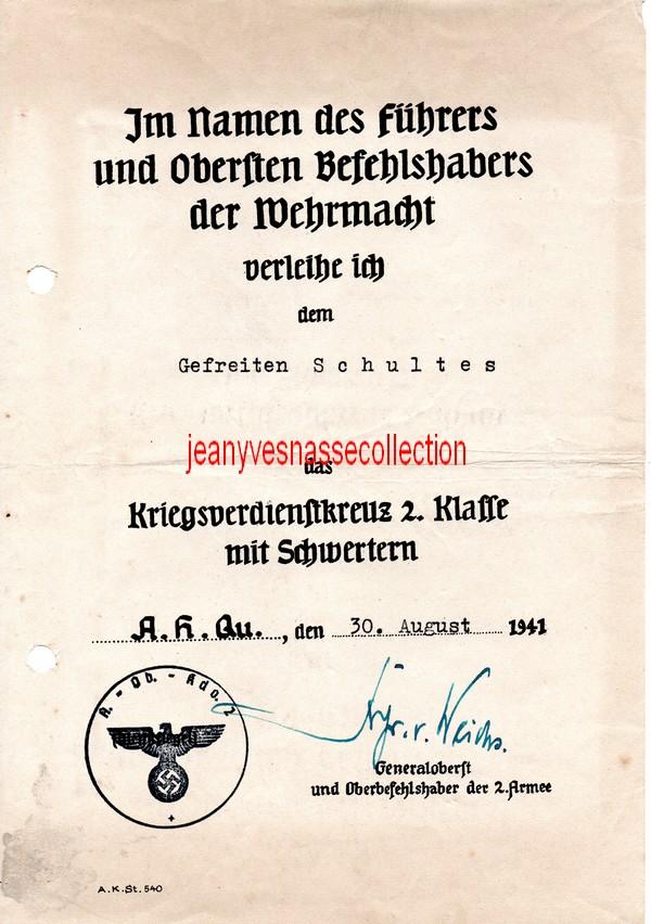Soldbuch Feldwebel Feldgendarmerie-Abteilung (mot 696) Russie Grèce Croatie K1012