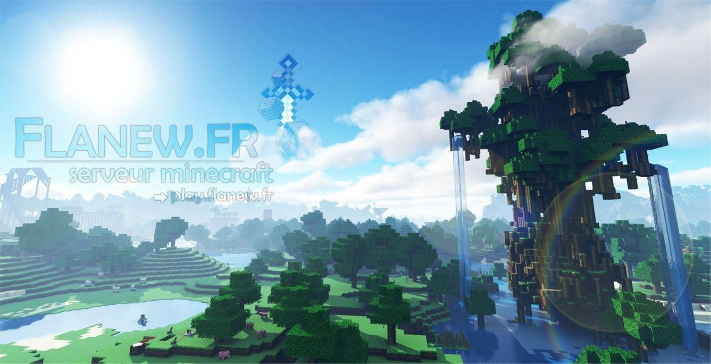Serveur Minecraft : Flanew