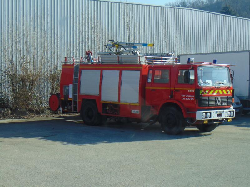 Pompiers, site chimique de La-Roche Dsc00078
