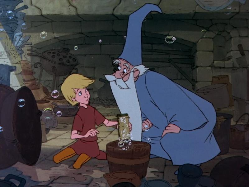 Merlin l'Enchanteur [Walt Disney - 1962] - Page 3 Merlin10