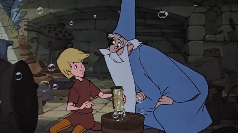 Merlin l'Enchanteur [Walt Disney - 1962] - Page 3 Merlin11
