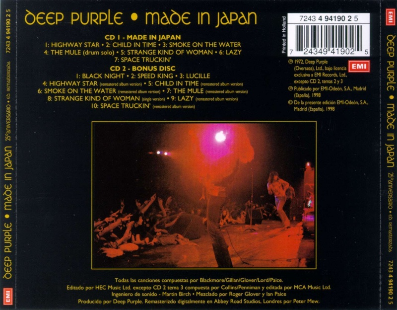 Deep Purple - Made in Japan (1972) Remast11