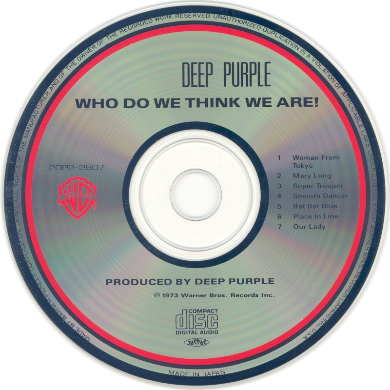 Deep Purple - Who Do We Think We Are (1973) Xd10