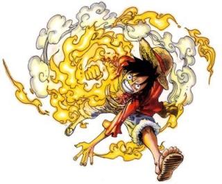 Fiche: Monkey D. Luffy !! Hiken10