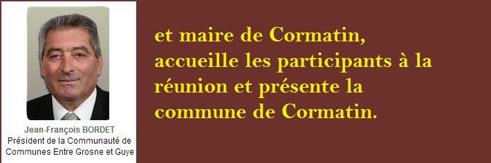 Compte-rendu de la réunion publique d'information Charte paysagère et architecturale Lundi 24 Juin 2013, à Cormatin C210