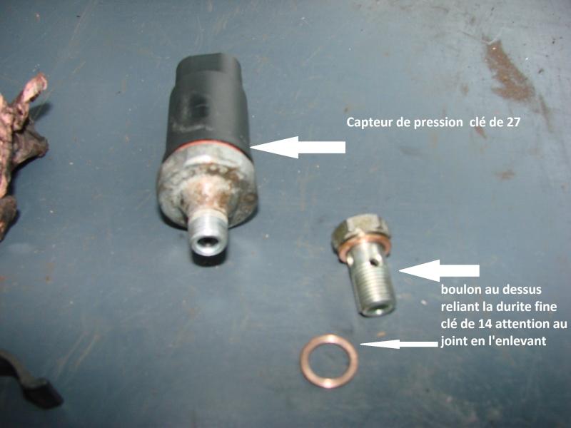 démonter capteur pression d'huile ? Dsc03312