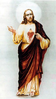 Claire Ferchaud et le coeur broyé de Jésus et son Sacré Coeur Coeur_10