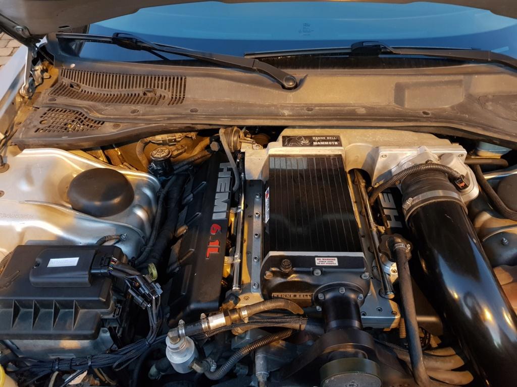 Tune personnalisée DIABLOSPORT Jeep SRT8 20181110