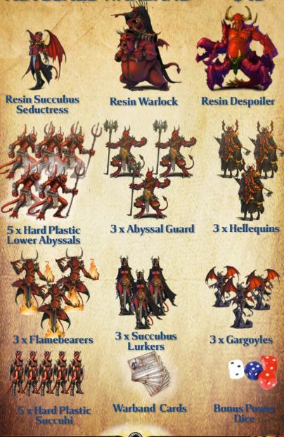Warband vanguard Abyssaux et Cauchemars Abb10