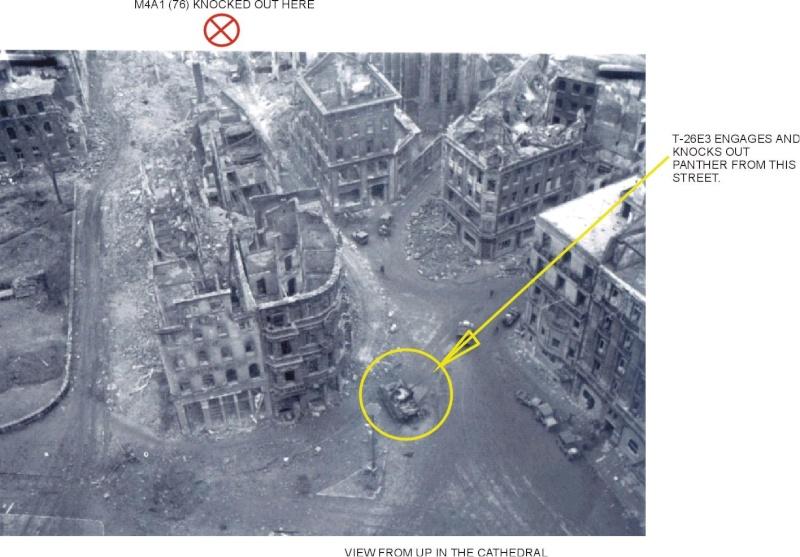 Battle for Cologne - tank duel - Video 10926710
