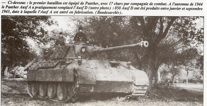 PANZER REGIMENT - Pz.Div. type 44 2222gd11