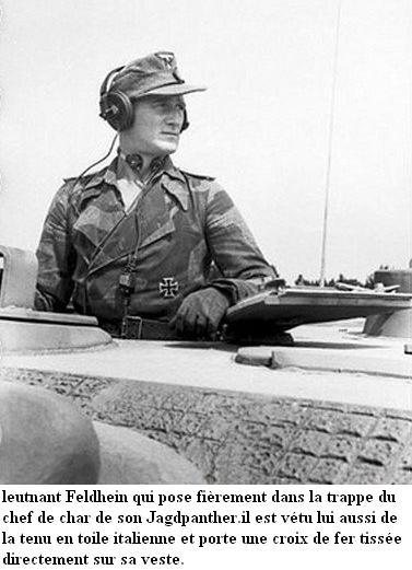 LA TOILE ITALIENNE dans l'armée Allemande - Doc 29575010