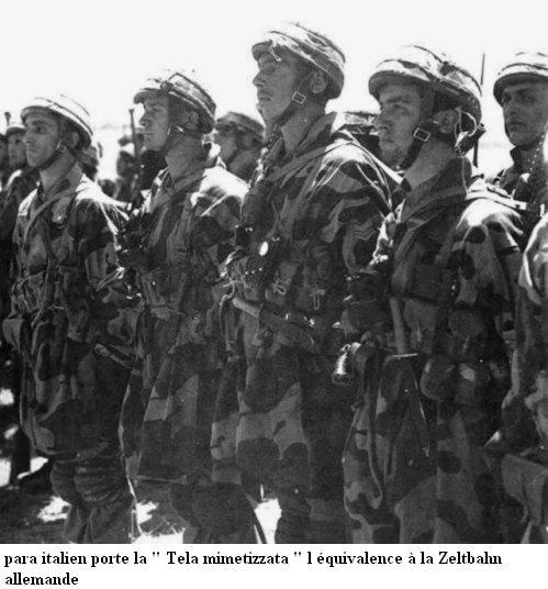 LA TOILE ITALIENNE dans l'armée Allemande - Doc 29575012