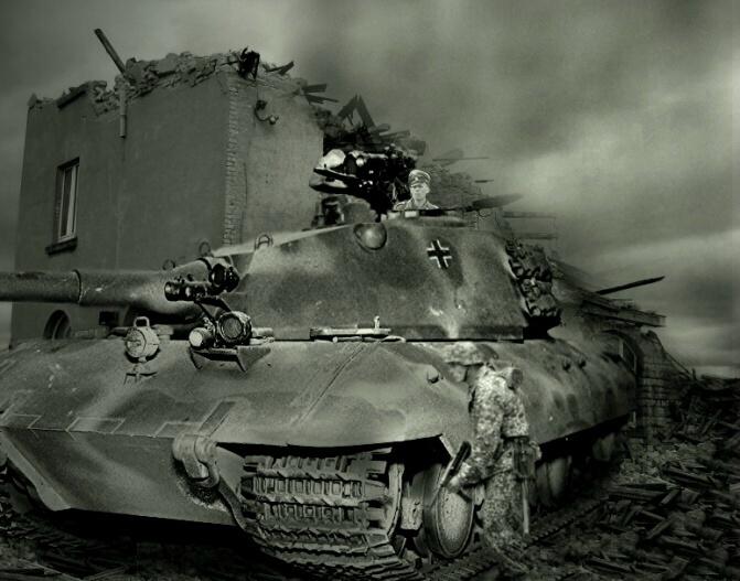 Le Tiger III et le Buffel - 1946/47 53062910
