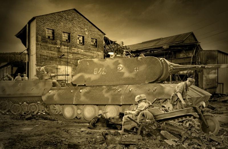 Le Tiger III et le Buffel - 1946/47 74636210