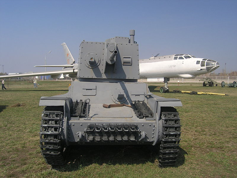 LT-38 (Panzer 38(t) - Technical museum in Togliatti - Russia 800px-17