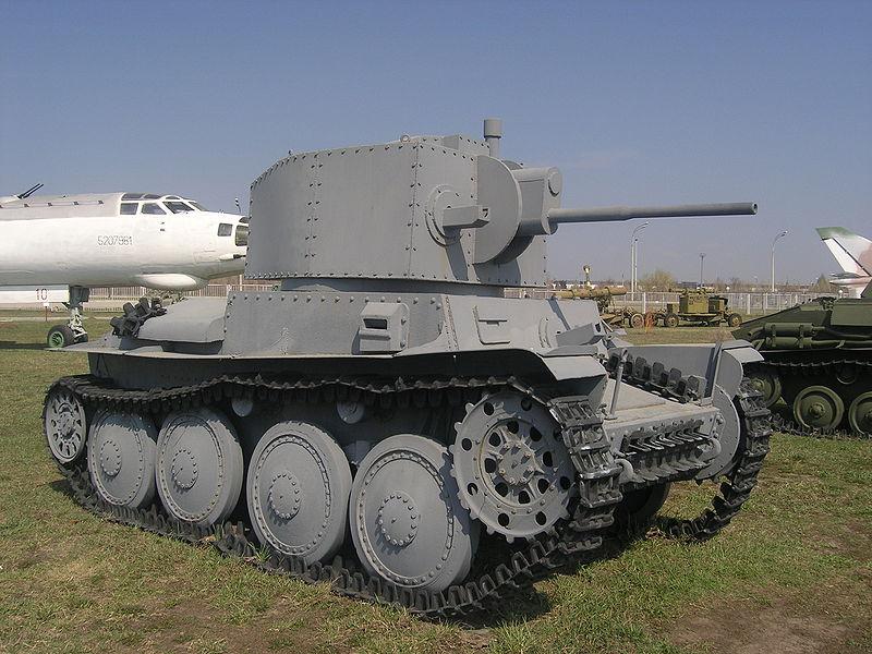 LT-38 (Panzer 38(t) - Technical museum in Togliatti - Russia 800px-18