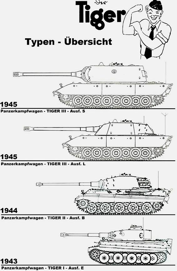 Le Tiger III et le Buffel - 1946/47 _e100-10