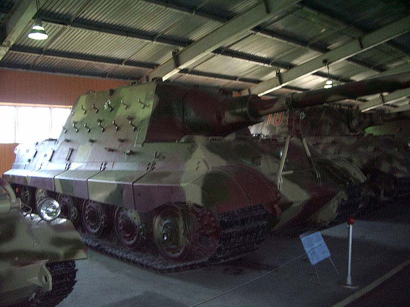 Jagdtiger - Kubinka Armor Museum - Russie _imgp310