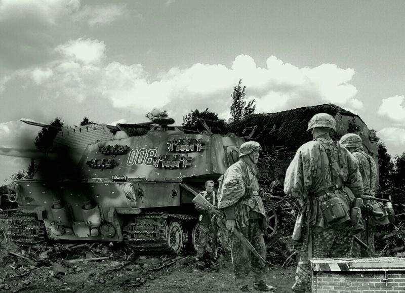 Le Tiger III et le Buffel - 1946/47 Abriss10