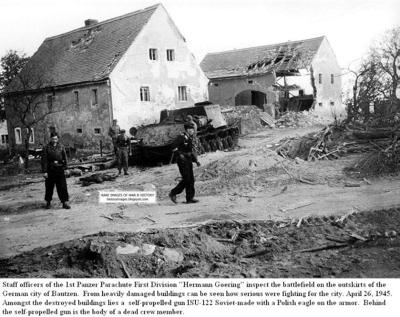 Bataille de Bautzen - Avril 1945 Battle10