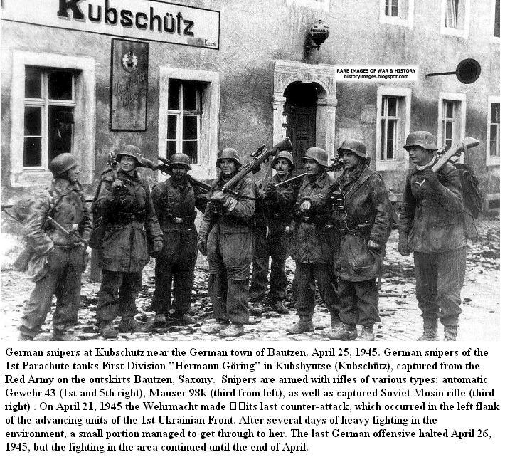 Bataille de Bautzen - Avril 1945 Battle11