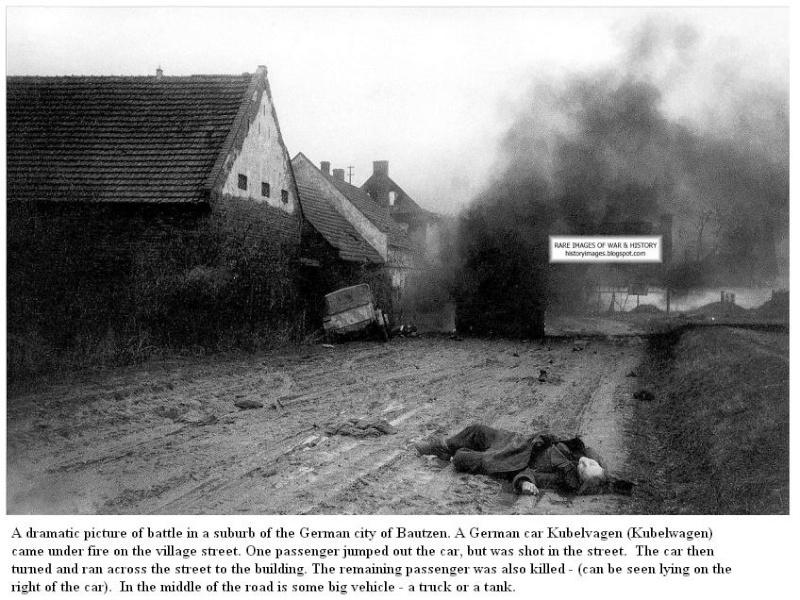 Bataille de Bautzen - Avril 1945 Battle12