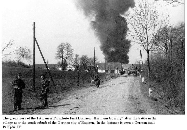 Bataille de Bautzen - Avril 1945 Battle14