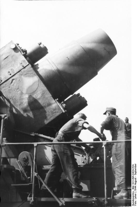 Reportage - Bundesarchiv - KARL !!! Bundes33