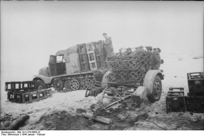 Bundesarchiv - Nebelwerfer -  janvier 1944 Bundes38