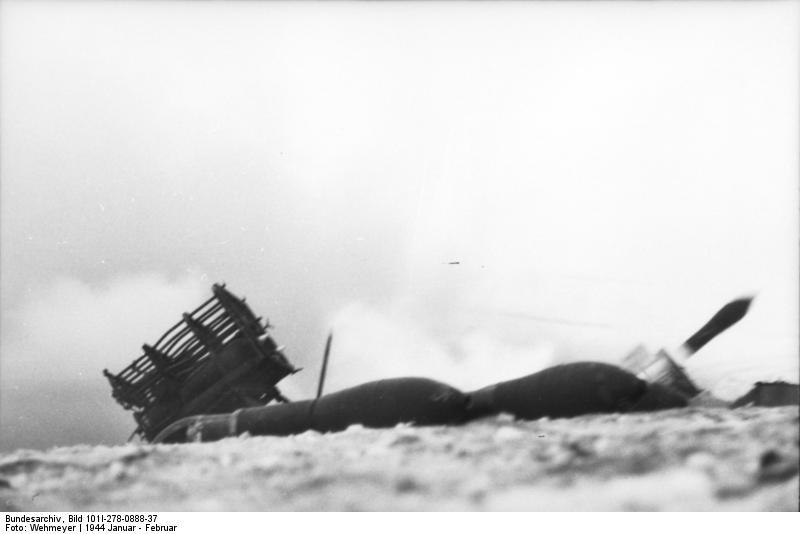 Bundesarchiv - Nebelwerfer -  janvier 1944 Bundes42
