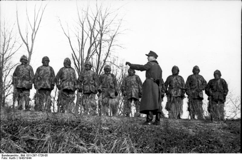 Reportage Bundesarchiv - Heer sniper 43/44 Bundes53