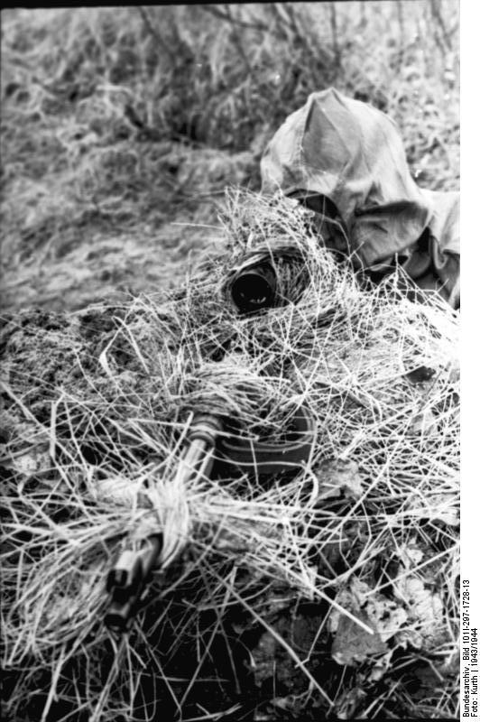 Reportage Bundesarchiv - Heer sniper 43/44 Bundes58