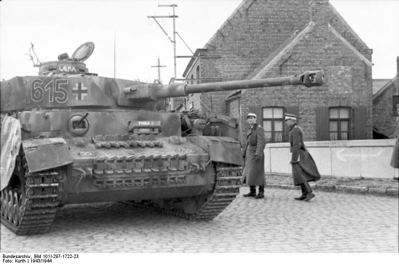 reportage Bundesarchiv - Panzer IV wilma Bundes60