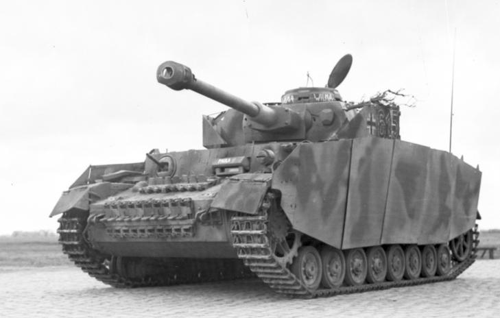 reportage Bundesarchiv - Panzer IV wilma Bundes61