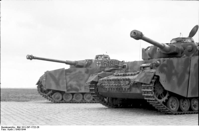 reportage Bundesarchiv - Panzer IV wilma Bundes62