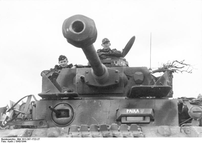 reportage Bundesarchiv - Panzer IV wilma Bundes63