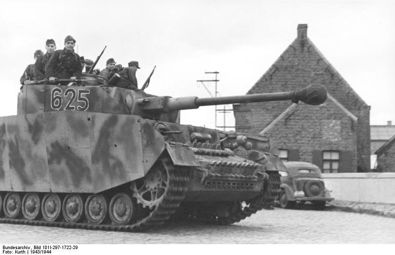 reportage Bundesarchiv - Panzer IV wilma Bundes64