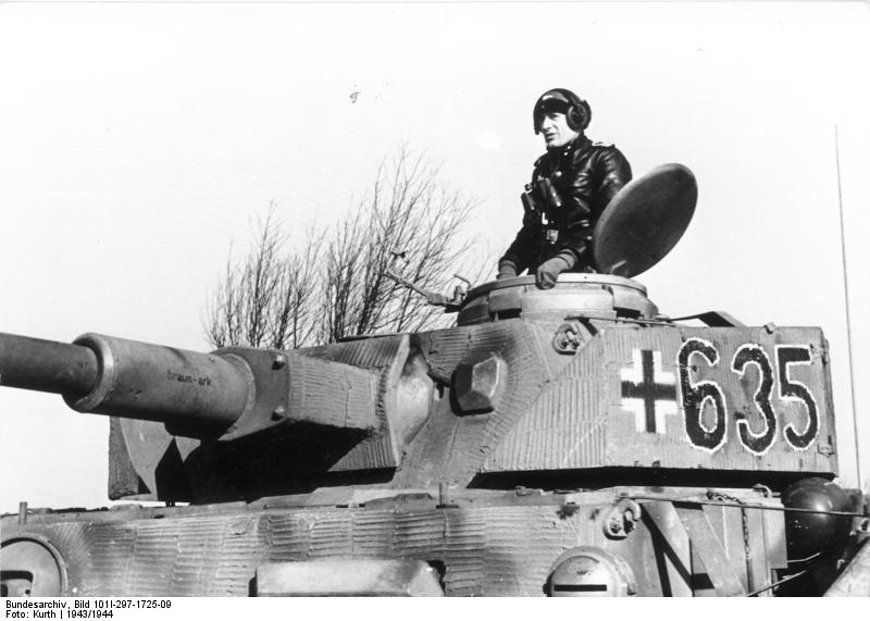 reportage Bundesarchiv - Panzer IV wilma Bundes65