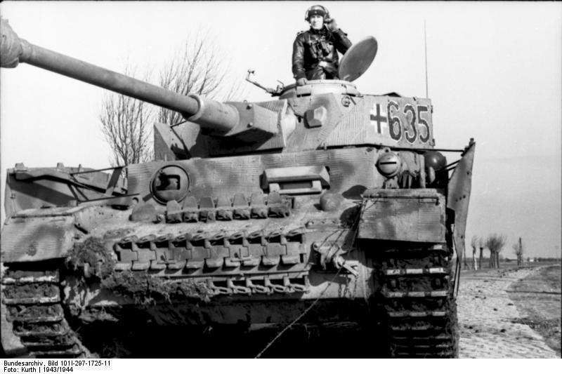 reportage Bundesarchiv - Panzer IV wilma Bundes66