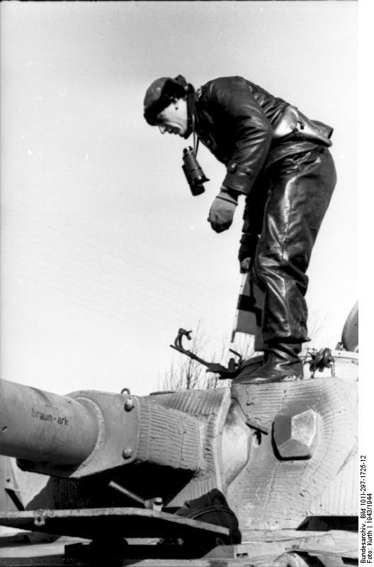 reportage Bundesarchiv - Panzer IV wilma Bundes67