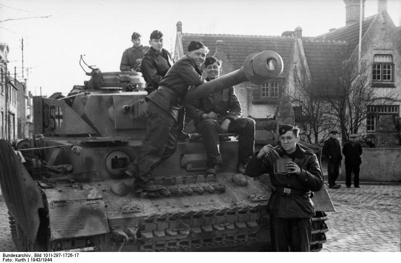 reportage Bundesarchiv - Panzer IV wilma Bundes68