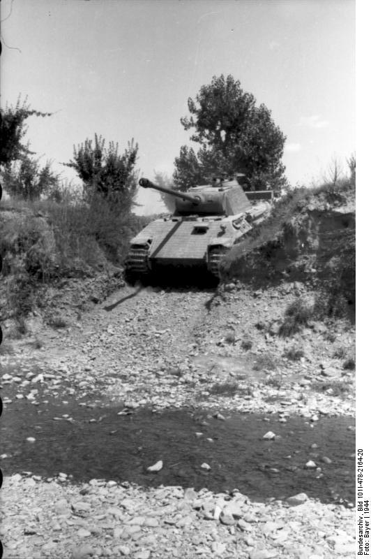 Reportage Bundesarchiv - Panther - Italie Mai 1944 Bundes84