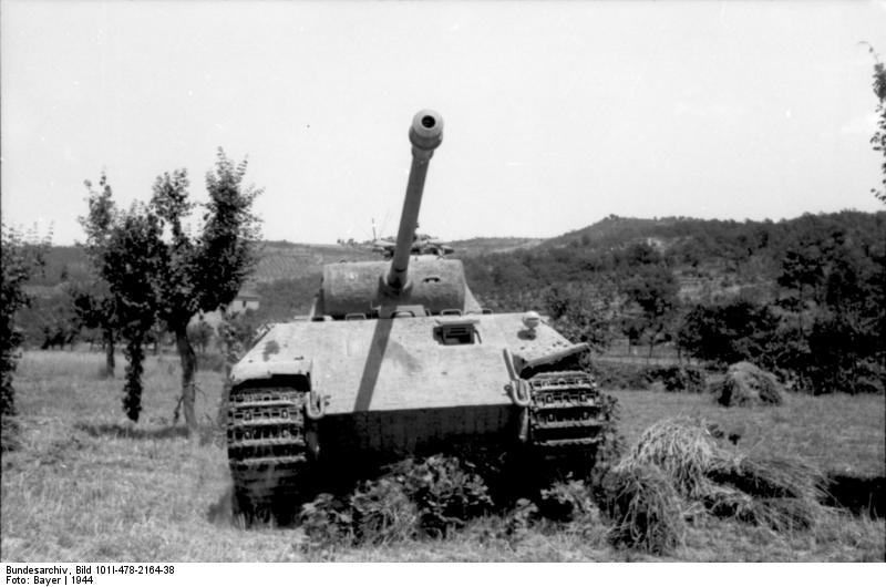 Reportage Bundesarchiv - Panther - Italie Mai 1944 Bundes86