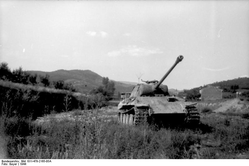 Reportage Bundesarchiv - Panther - Italie Mai 1944 Bundes88