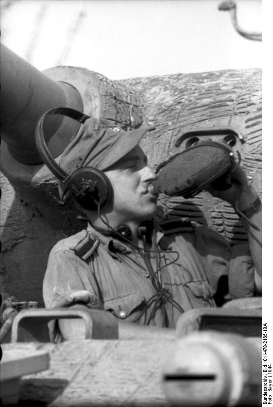 Reportage Bundesarchiv - Panther - Italie Mai 1944 Bundes89