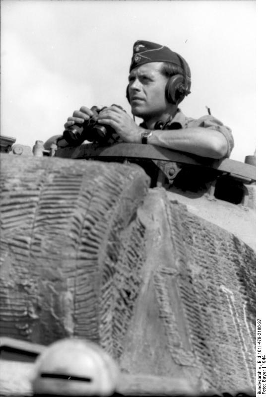 Reportage Bundesarchiv - Panther - Italie Mai 1944 Bundes91