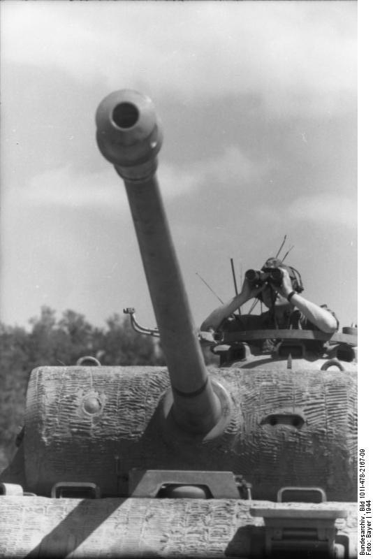 Reportage Bundesarchiv - Panther - Italie Mai 1944 Bundes92