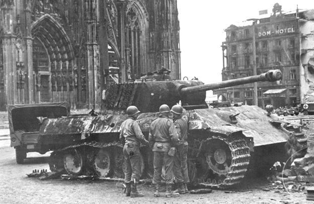 Battle for Cologne - tank duel - Video Cologn10